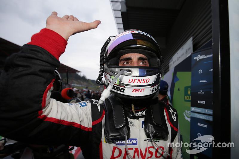 Race winner Sébastien Buemi, Toyota Gazoo Racing