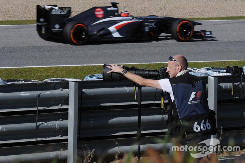Питер Нигаард, тесты Ф1 в Хересе, 2013 год