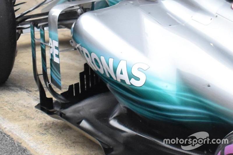 Mercedes AMG F1 W08, detalle