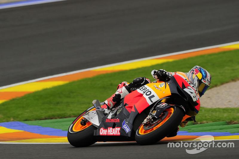 2012: MotoGP Valencia