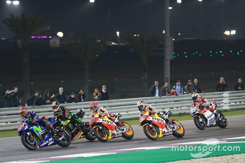 Maverick Viñales, Yamaha Factory Racing, Johann Zarco, Monster Yamaha Tech 3, Marc Marquez, Repsol Honda Team, Dani Pedrosa, Repsol Honda Team