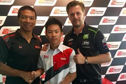 Dato' Razlan Razali, Ayumu Sasaki dan Johan Stigefelt