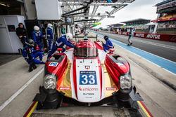 #33 Eurasia Motorsport Oreca 05 Nissan: Jun Jin Pu, Nick de Bruijn, Tristan Gommendy