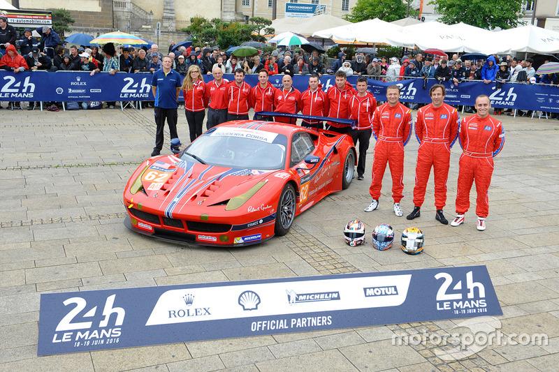 #62 Scuderia Corsa Ferrari 458 Italia: Білл Сведлер, Джефф Сігал, Таунсенд Белл