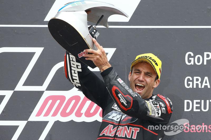 Podium: winner Johann Zarco, Ajo Motorsport