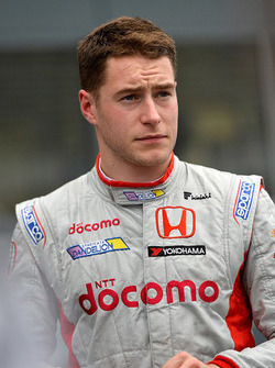 Ganador de la pole Stoffel Vandoorne, Dandelion Racing