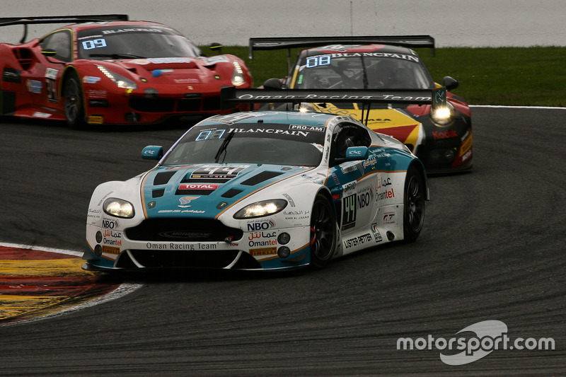#44 Oman Racing Team, Aston Martin Vantage GT3: Ahmad Al Harthy, Devon Modell, Jonathan Adam, Daren