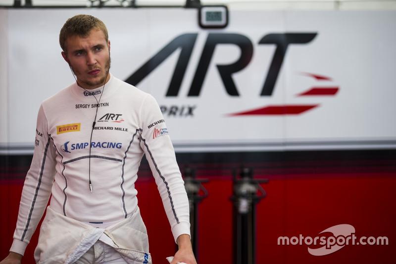 #6: Sergey Sirotkin - 3. Platz GP2 (ART)