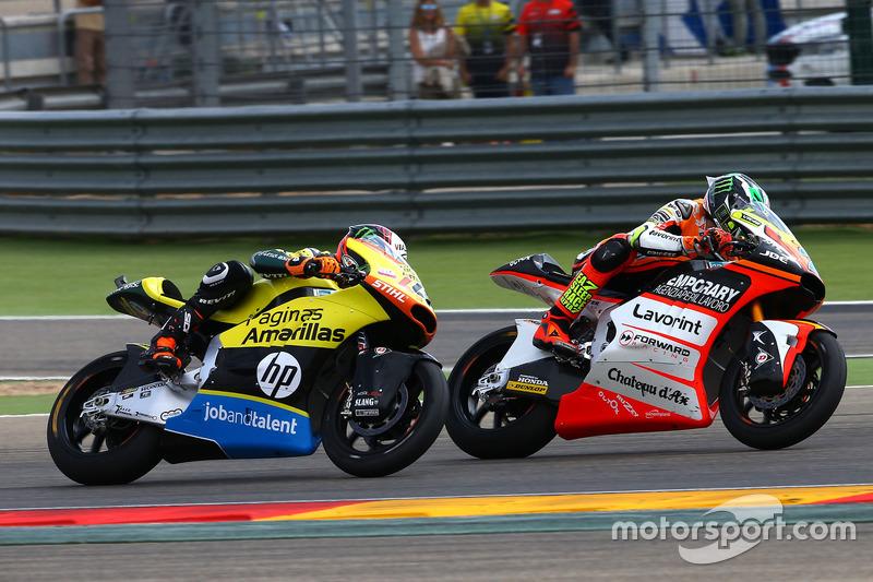 Lorenzo Baldassarri, Forward Racing; Alex Rins, Paginas Amarillas HP 40