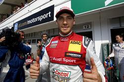 Обладатель поула Эдоардо Мортара, Audi Sport Team Abt Sportsline, Audi RS 5 DTM