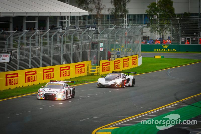 #1 JAMEC PEM, Audi R8 LMS: Christopher Mies, Geoff Emery