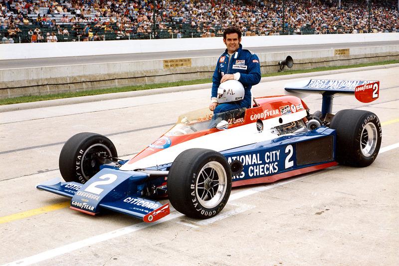 Le vainqueur Al Unser, Lola/Cosworth