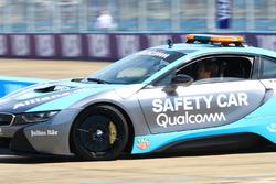 Nico Rosberg, Formula 1 World Champion, Formula E investor, drives the BMW i8 Qualcomm safety car