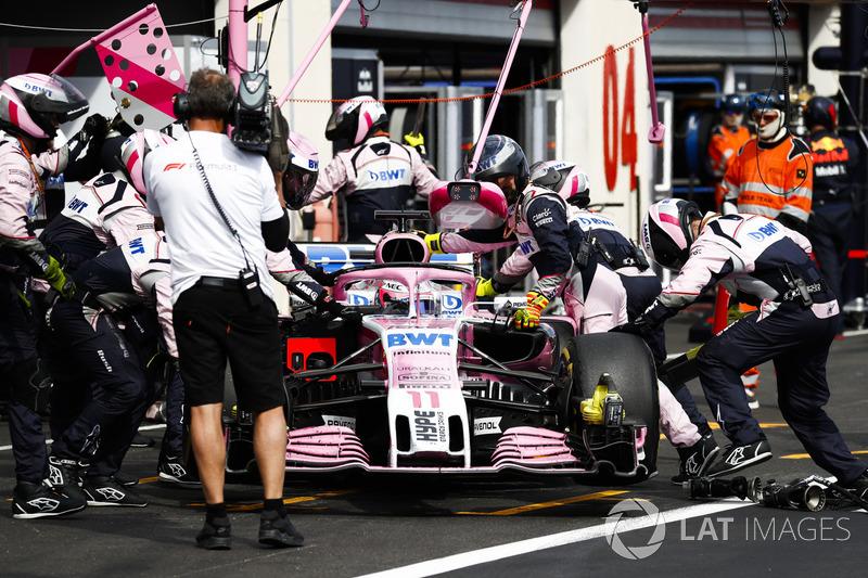 Abandon : Sergio Pérez (Force India)