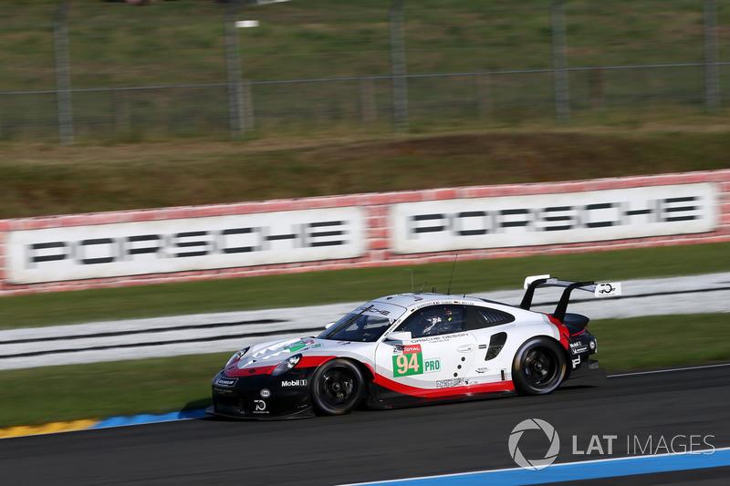 38: #94 Porsche GT Team Porsche 911 RSR: Romain Dumas, Timo Bernhard, Sven Müller, 3'50.089