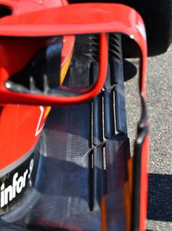 Ferrari SF71H detalle de barcazas