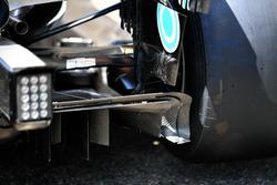 Диффузор Mercedes AMG F1 W09
