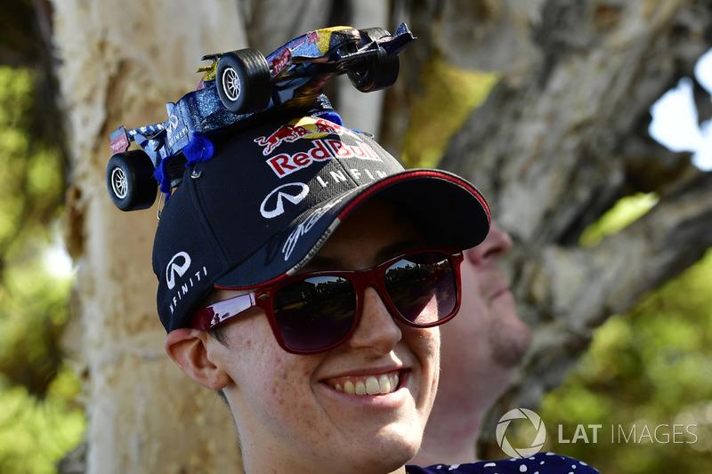 Fans Red Bull Racing sombrero