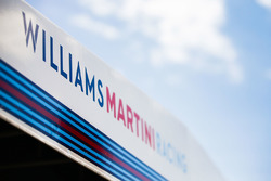 Williams Racing garage