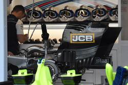Williams FW41 titanium gearbox