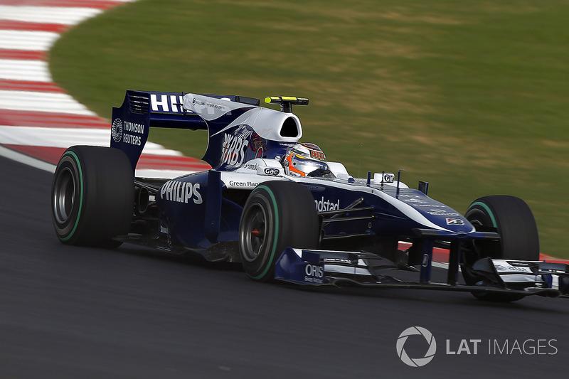 2010: Williams FW32 Cosworth (одно четвертое место, 6-е место в КК)
