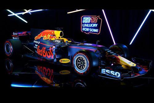 Präsentation: Red Bull RB13