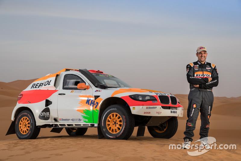 Txema Villalobos, Repsol Rally Team