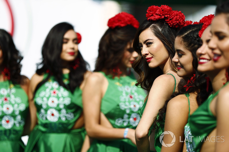 Mexican promotional girls