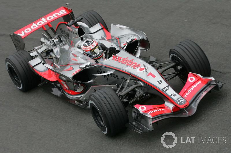 Fernando Alonso, McLaren MP4/22