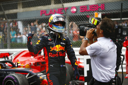 Daniel Ricciardo, Red Bull Racing, fête sa victoire