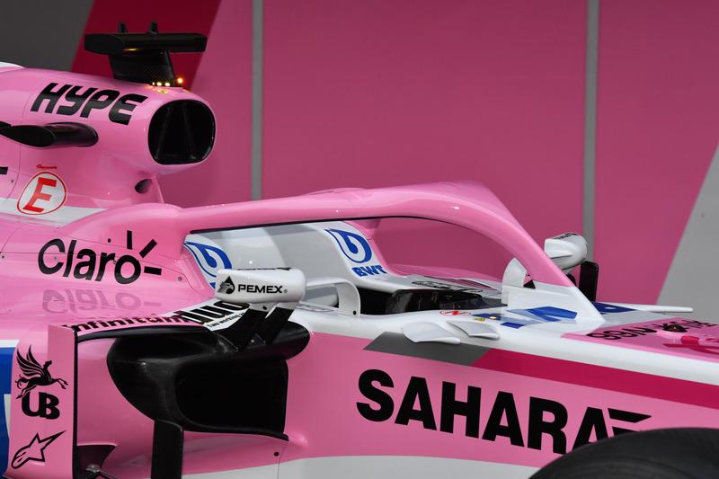Sahara Force India VJM11 halo