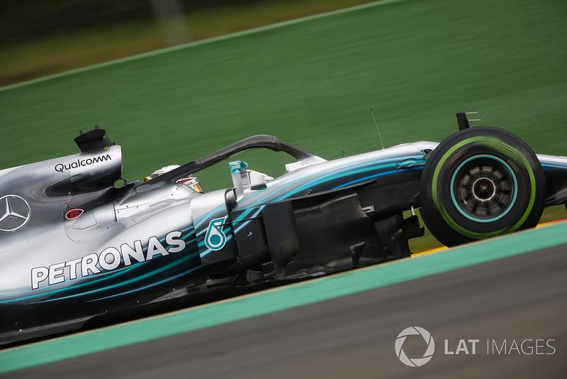2. Lewis Hamilton, Mercedes AMG F1 W09