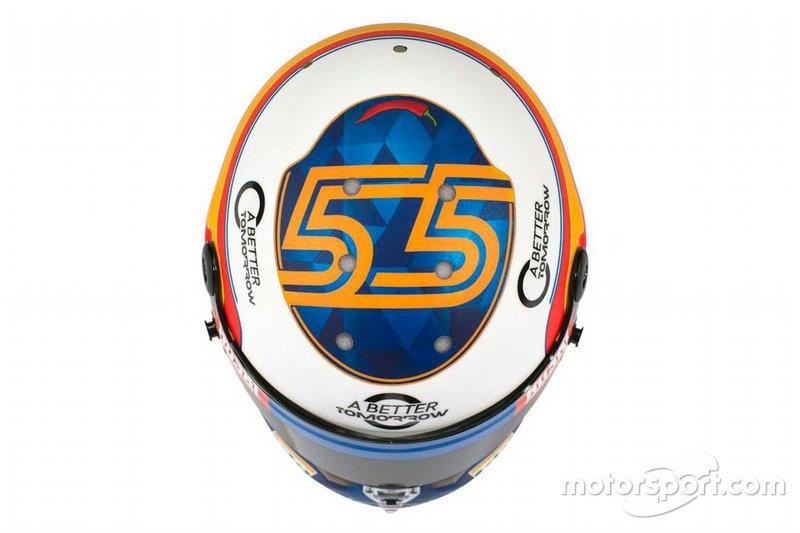 Helm van Carlos Sainz Jr., McLaren