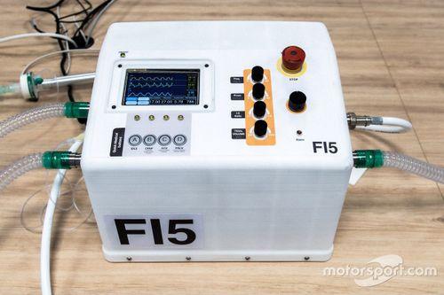 Respiradores diseñados por la F1