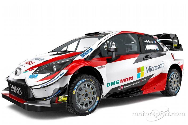 Toyota Yaris WRC unveil