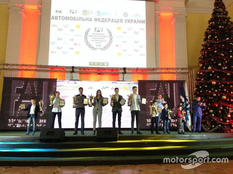 Нагородження учасників ЧУ з картингу 2018 року