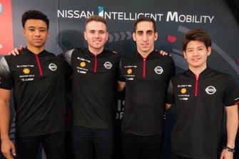 Nissan E.Dams Formula E Car Launch