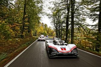 La Porsche 919 Hybrid Evo sur les routes allemandes