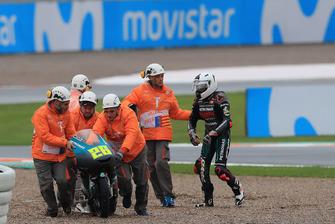Izam Ikmal, Petronas Sprinta Racing after crash