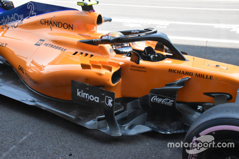 McLaren MCL33 side detail