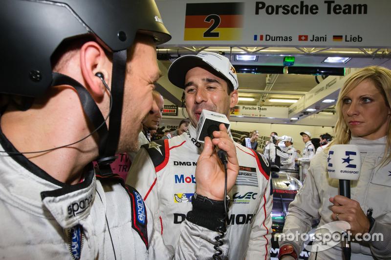 #2 Porsche Team Porsche 919 Hybrid: Entrevista ganador Polo Neel Jani