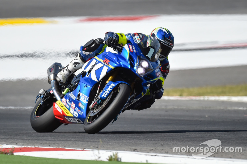 #1 Suzuki Endurance Racing Team, SERT: Vincent Philippe, Anthony Delhalle, Etienne Masson