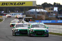 Mark Winterbottom, Prodrive Racing Australia Ford and Cameron Waters, Prodrive Racing Australia Ford