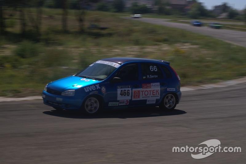 Руслан Сєров - гонка 1