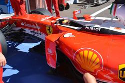 Ferrari SF16-H: fiancata