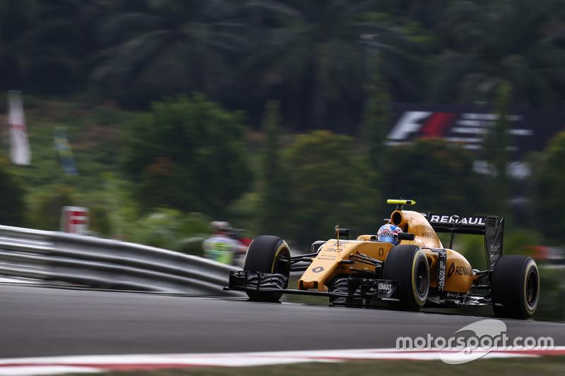 10. Jolyon Palmer, Renault Sport F1 Team RS16