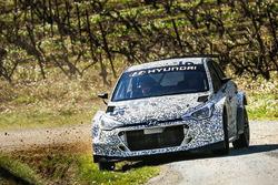 Kevin Abbring und Sebastian Marshall, Hyundai i20 R5, Hyundai Motorsport