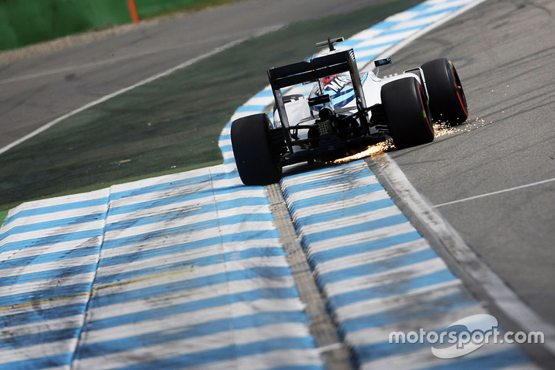 Felipe Massa, Williams FW38 fa scintille