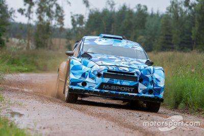 M-Sport Ford Fiesta WRC gravel test