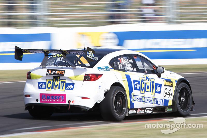 #94 MARC Cars Australia Mazda 3 V8: Gerard McLeod, Bryce Fullwood, Nick Rowe at Bathurst 12 Hour